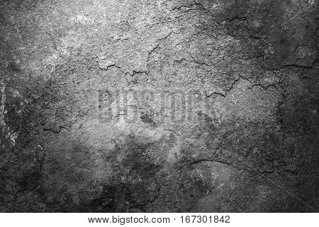 Rusty metal texture or rusty metal background. Grunge retro vintage of rusty metal plate for design with copy space for text or image. Black and white.