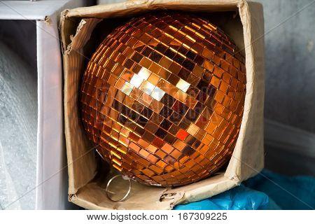 Disco Ball For Dancing In A Disco Club