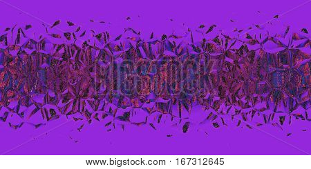 Violet mosaic pattern as abstract background.Digitally generated image.