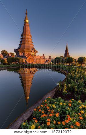The Great Holy Relics Pagoda Nabhamethanidol And Nabhapolbhumisiri