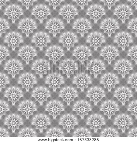 seamless pattern or floral background - vector illustration