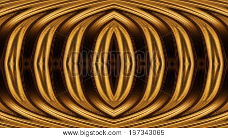 Texture Of Black Gold. Abstract Seamless Texture With An Ellipse In The Center. Fractal Art Backgrou