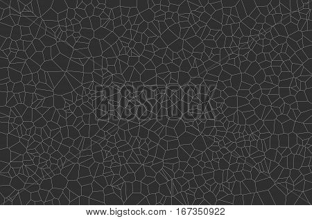 Abstract geometrical science concept voronoi low poly tesselated triangle pattern texture