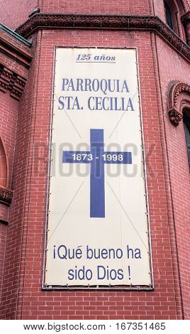 Saint Cecilia Roman Catholic Church in New York City