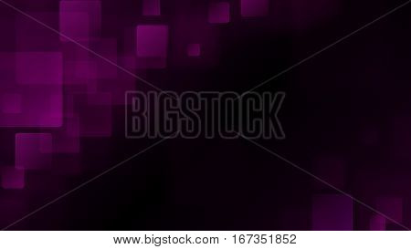Purple Abstract Background Of Blurry Squares