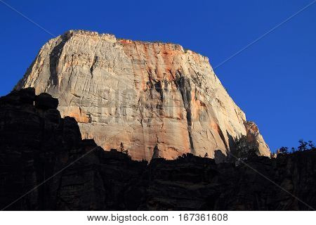 The Great White Throne, Zion National Park, Utah