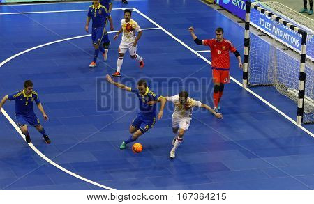 Futsal Friendly Match Ukraine V Spain