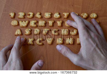 Hands On Cracker Keyboard Buttons