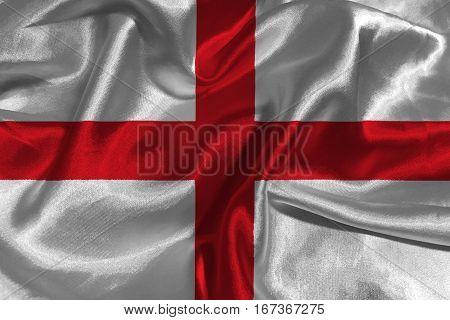 England national flag 3D illustration symbo l.