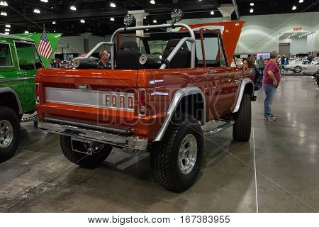 Ford Bronco On Display