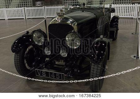 Bentley 4.5 Litre On Display