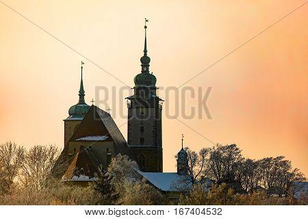 Church Of St. James The Greater In Jihlava, Czech Republic