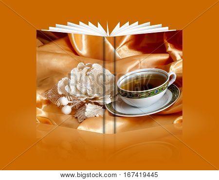 Book Of   Ginger And Orange Tea