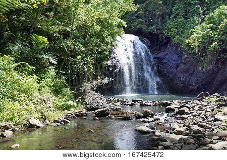 Vuadomo Waterfall Fiji
