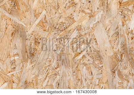 Beige panel OSB - old building material plate