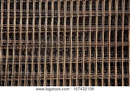 Iron bars reinforcement concrete bars with wire rod for house construction