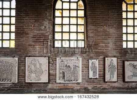 Decor Of Basilica San Giovanni Evangelista