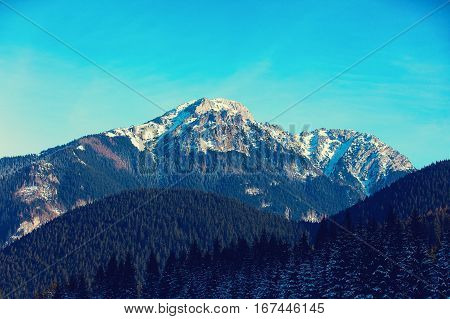 View At Winter Mountains Tatry, Poland