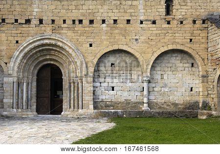 Romanesque church of Sant Andreu Salardú Aran Valley Lleida province Catalonia Spain