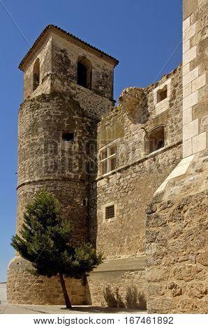 Castle of Garcimunoz Cuenca province Castilla La Mancha Spain