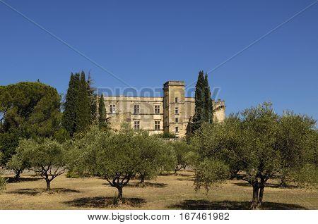 Castle of Lourmarin Provence Alpes Cote d'Azur France