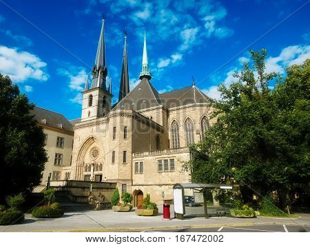 Notre Dame Cathedral Of Luxemburg
