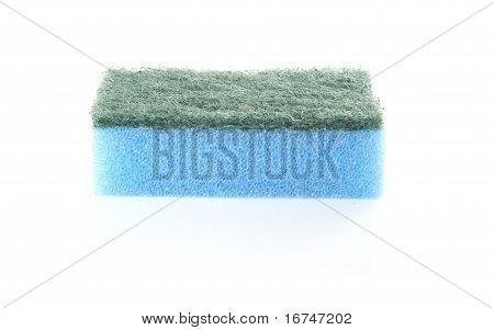 Single Blue Sponge