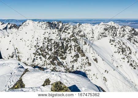 Tatras Panorama Winter.