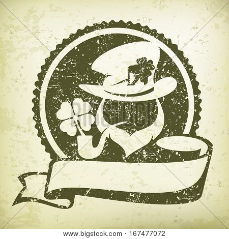 Leprechaun Circle Logo Grange