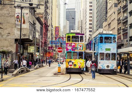 Double Deck Tram