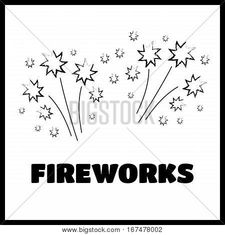 Black sparkles glowing light effect stars and bursts vector set. Bright firework decoration twinkle shiny flash vecor illustration
