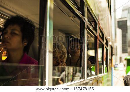 Tram Passenger