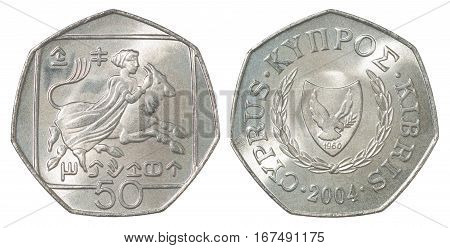 Cyprus Cents Coin