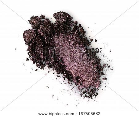 Smear Of Crushed Brown Eyeshadow