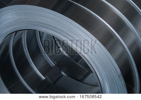 Aluminum sheet metal coils narrowed to size