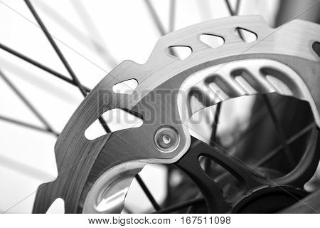 bicycle hydraulic disc brake system, disc detail