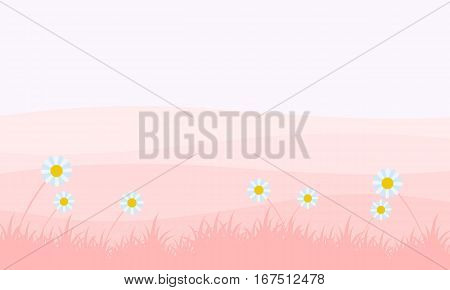 Landscape of spring backgrounds vector collection stock