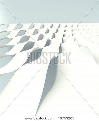 White Wave Shells
