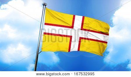 Dorset flag, 3D rendering