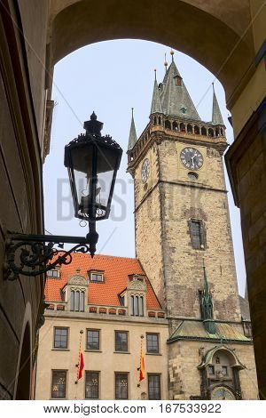Old Town Hall in Prague, Czech republic
