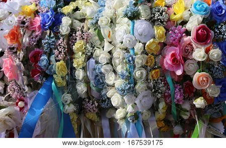Headbands For Hair And Flowers To Decorate The Hairstyle For You