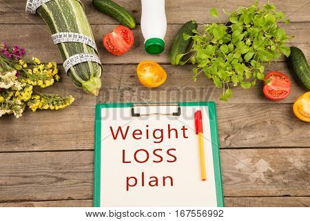 Diet Plan - Marrow Squash, Clipboard With Text