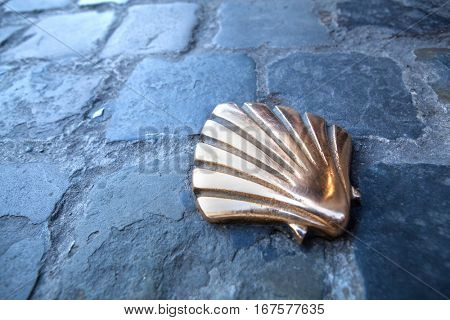 St James shell in Brussels