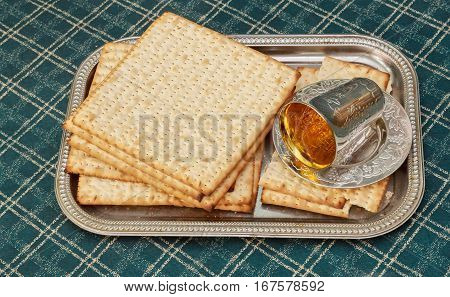 Jewish Holiday Pesah Celebration Concept Passover