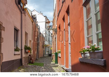 cobbled streets of Brussels
