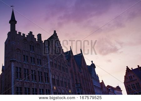 Burg square with the City Hall
