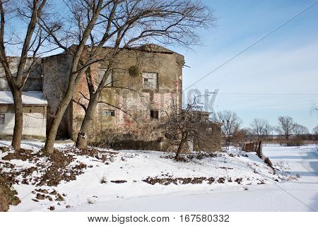 Medieval Teutonic castle Labiau in the Polessk. Kaliningrad region. Russia The castle was built in the 14th century and in the 16th century was reconstructed as a residence for the Duchess of Prussia.