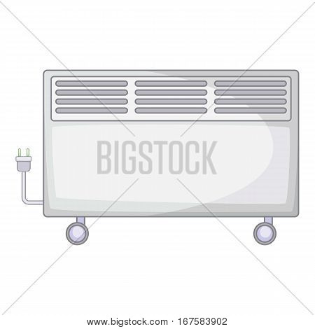Home heater icon. Cartoon illustration of home heater vector icon for web