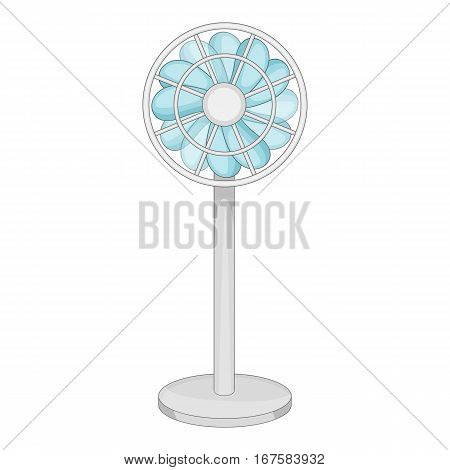 Floor ventilator icon. Cartoon illustration of floor ventilator vector icon for web