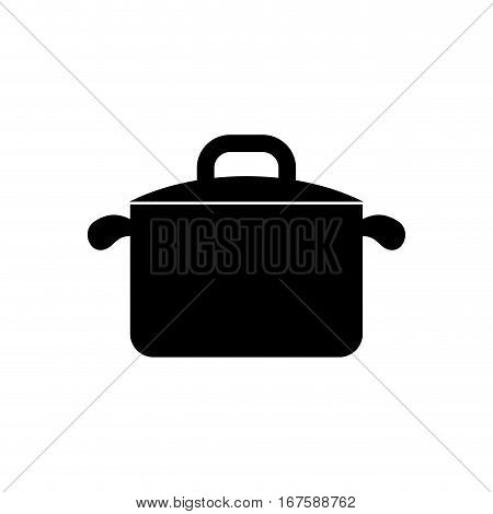 Kitchen saucepan isolated icon vector illustration graphic design